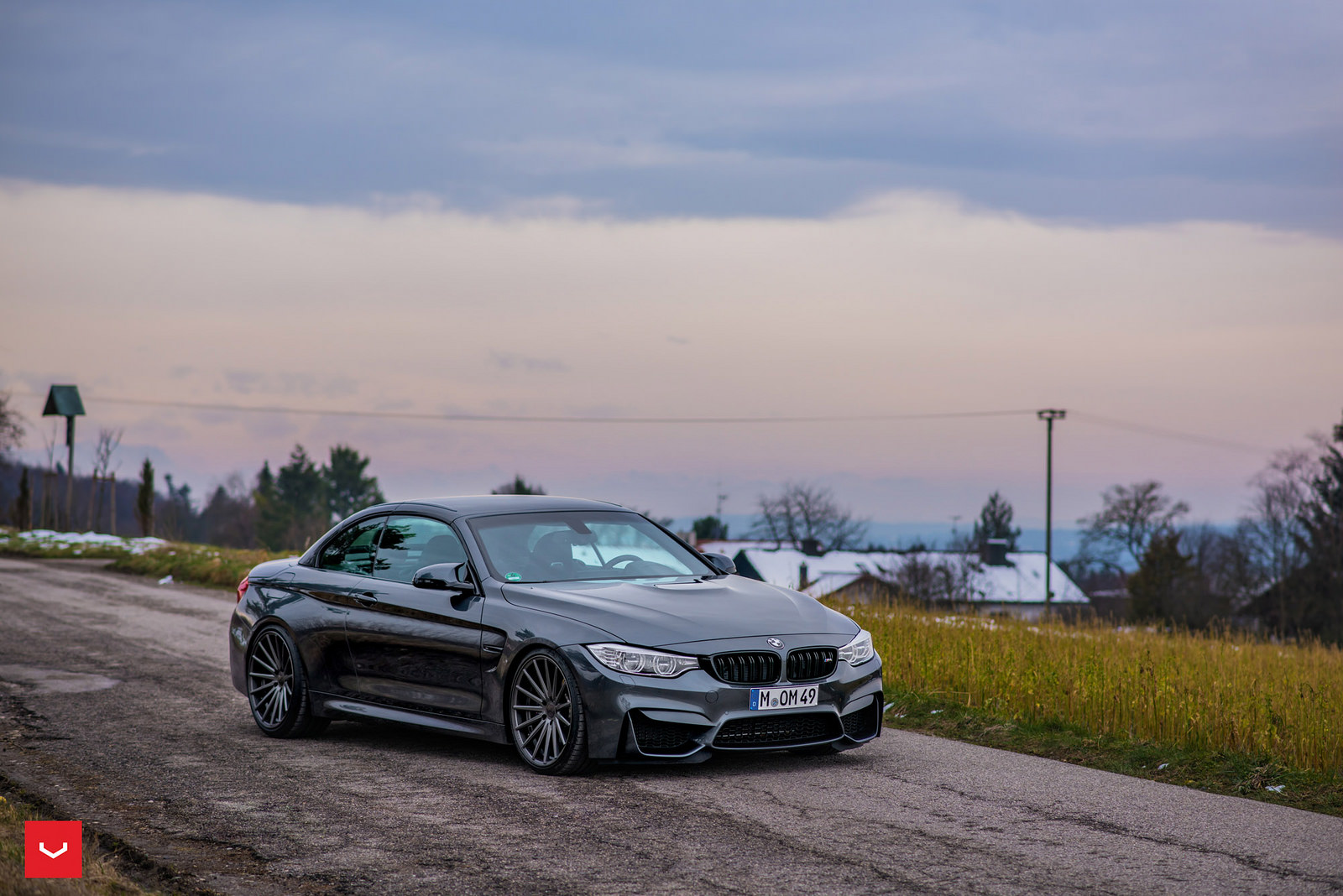 BMW M4 Convertible on Vossen Wheels (6)