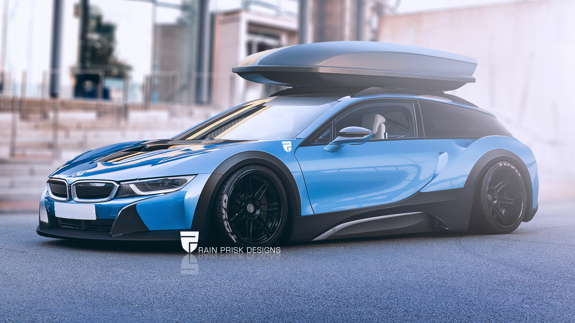 BMW i8 Shooting Brake by Rain Prisk