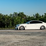 Alpine White BMW 435i Coupe with M Sport Package Bagging Treatment (13)