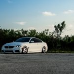 Alpine White BMW 435i Coupe with M Sport Package Bagging Treatment (3)
