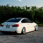 Alpine White BMW 435i Coupe with M Sport Package Bagging Treatment (5)