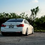Alpine White BMW 435i Coupe with M Sport Package Bagging Treatment (7)