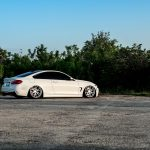 Alpine White BMW 435i Coupe with M Sport Package Bagging Treatment (8)
