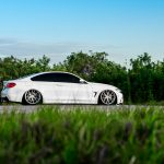 Alpine White BMW 435i Coupe with M Sport Package Bagging Treatment (9)