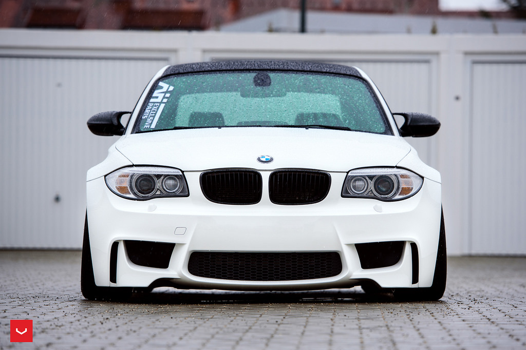 BMW 1M on Vossen Wheels  (1)