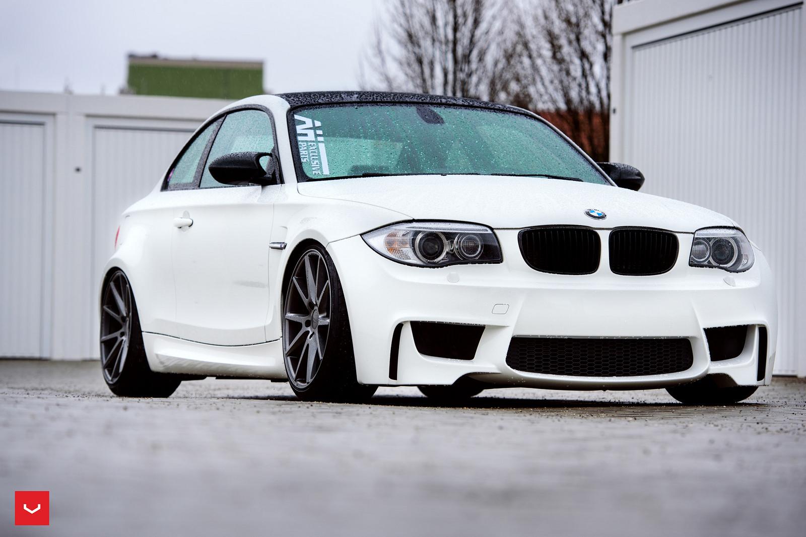 BMW 1M on Vossen Wheels  (10)