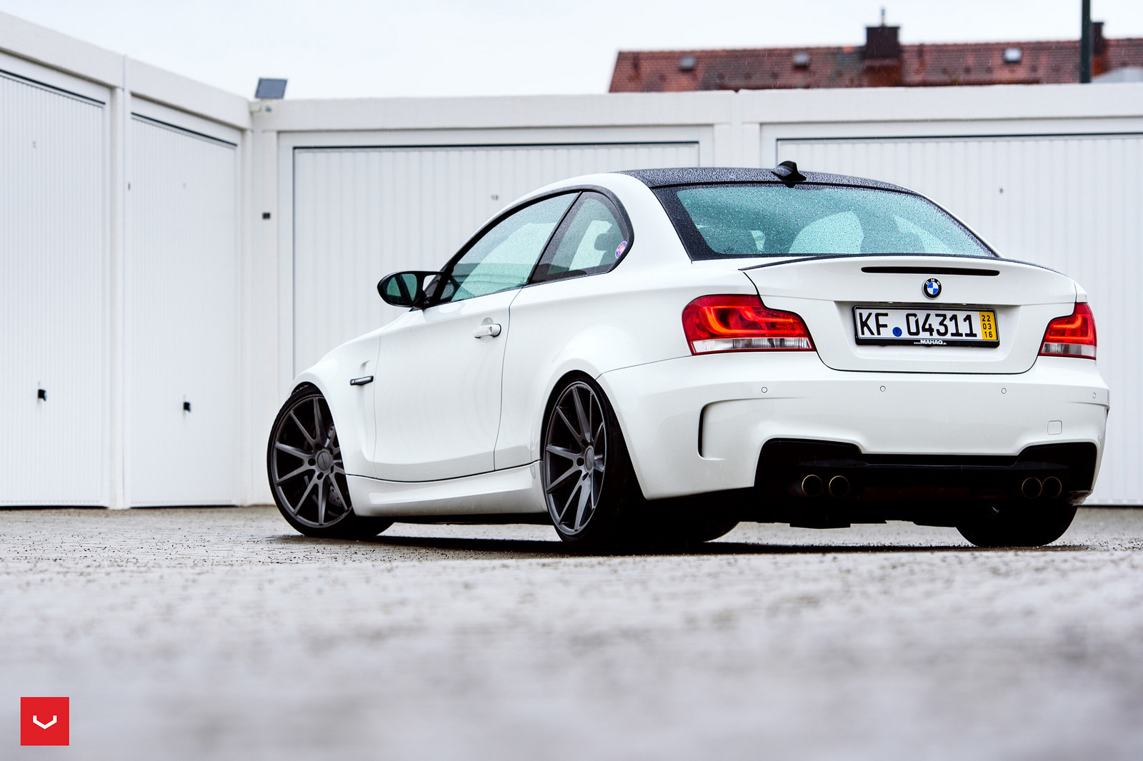 BMW 1M on Vossen Wheels  (6)
