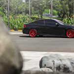Black Sapphire F82 BMW M2 on Red HRE Wheels (5)