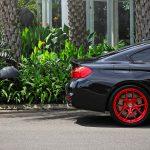 Black Sapphire F82 BMW M2 on Red HRE Wheels (8)