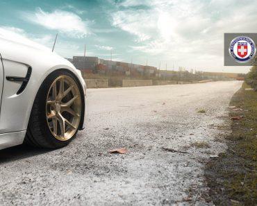 F80 BMW M3 Sits on HRE Wheels (5)