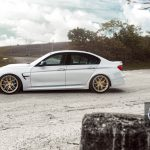 F80 BMW M3 Sits on HRE Wheels (8)