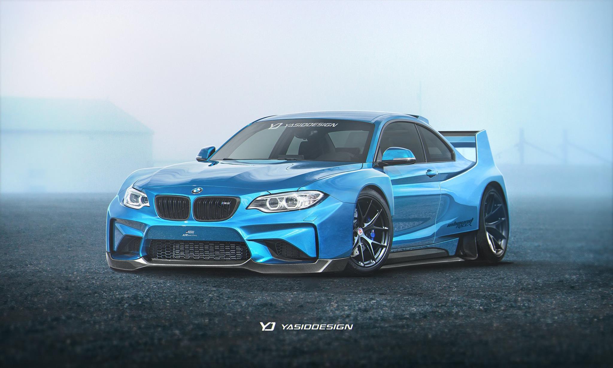 F22 BMW M2 GTS by YasidDesign: cocky and impressive | BMW Car Tuning