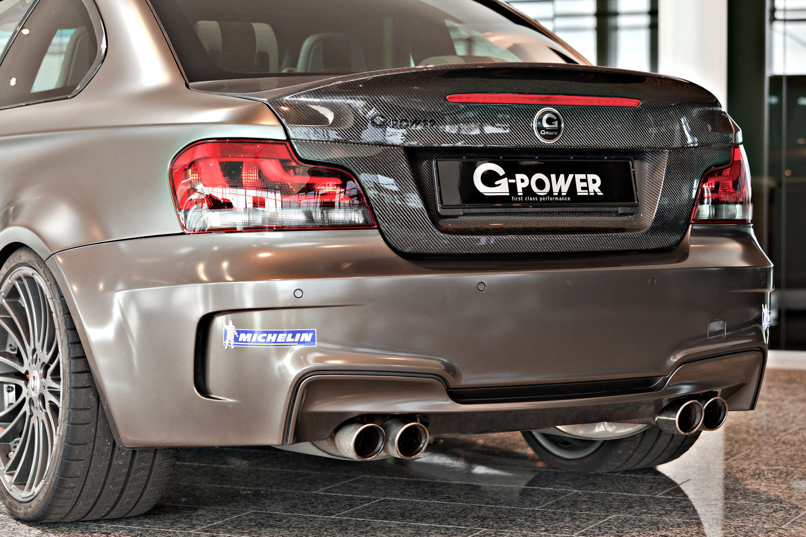 E82 G1 V8 Hurricane RS by G-Power