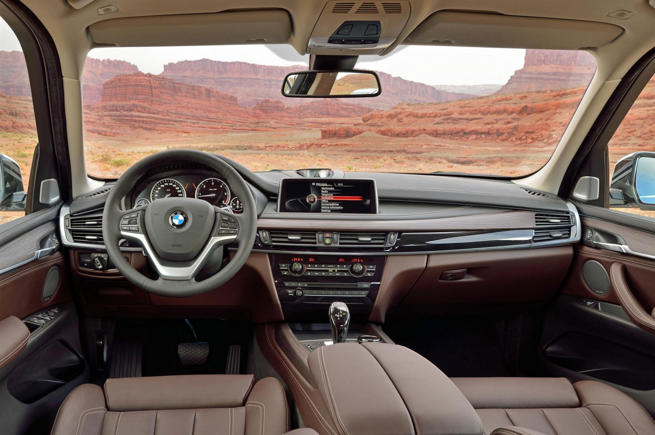 F15 BMW X5 Interior