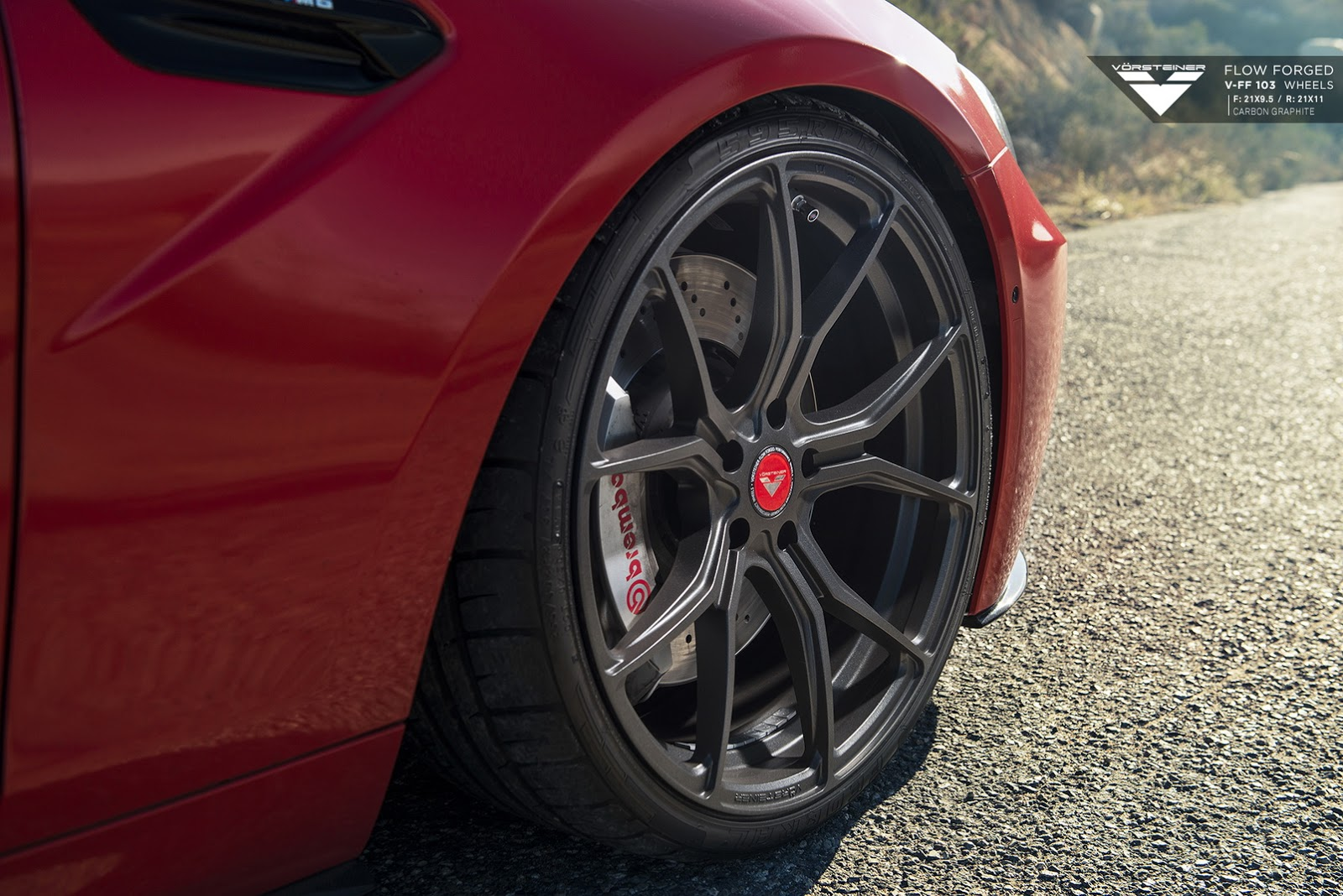 BMW M6 with 21-inch Carbon Graphite Alloys by Vorsteiner (11)