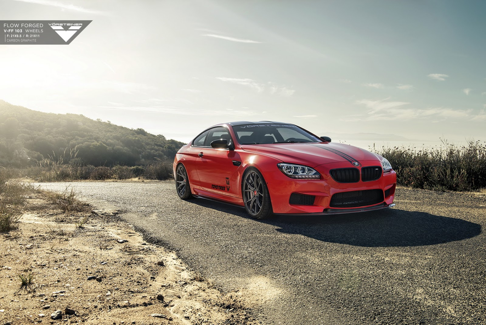 BMW M6 with 21-inch Carbon Graphite Alloys by Vorsteiner (6)