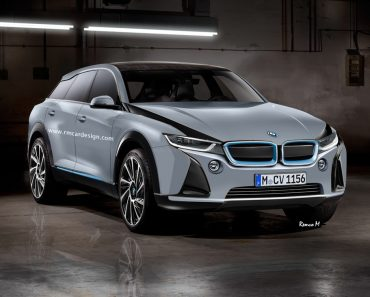 BMW i5 rendering by RM Design
