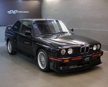 E30 BMW M3 Sport Evolution
