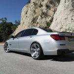 F02 BMW 750i with Fossette wheels