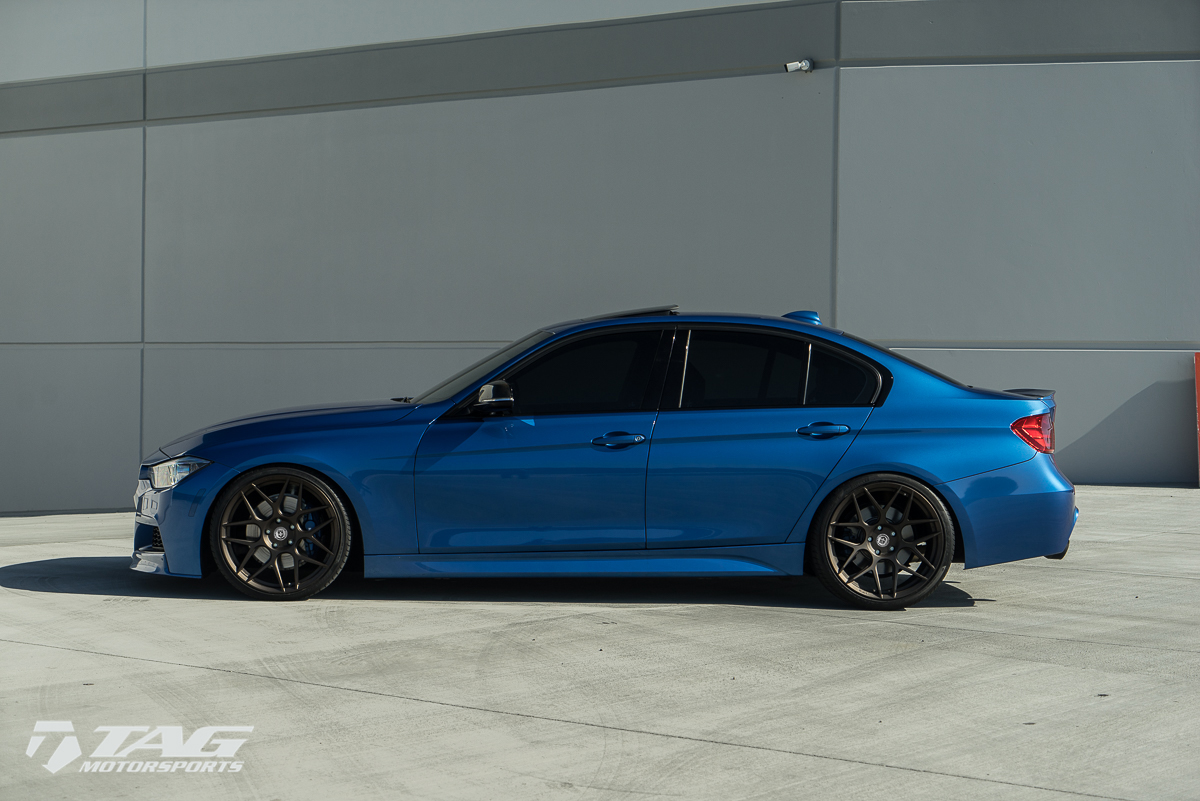 F30 BMW 3-Series Sits on HRE Wheels (5)