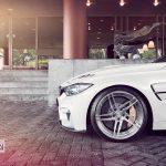 Alpine White BMW M3 (1)
