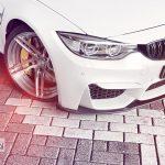 Alpine White BMW M3 (2)