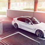 Alpine White BMW M3 (5)