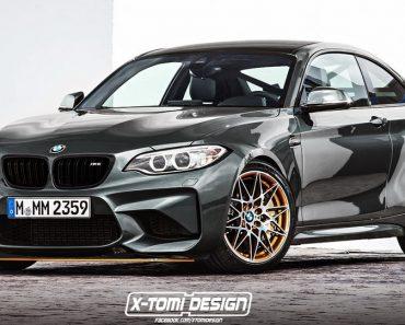 BMW M2 GTS render