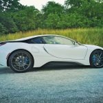 Crystal White BMW i8  (1)