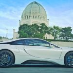 Crystal White BMW i8  (11)