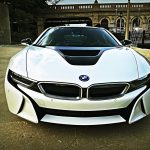 Crystal White BMW i8  (3)