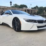 Crystal White BMW i8  (5)