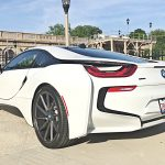Crystal White BMW i8  (9)