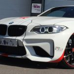 F22 BMW M2 Akrapovic exhaust