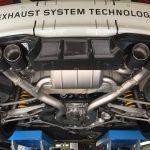 F22 BMW M2 Akrapovic exhaust