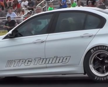 F80 BMW M3 drag race