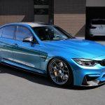 F80 BMW M3 with HRE P101 wheels