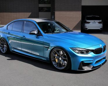 F80 BMW M3 with HRE P101 wheels