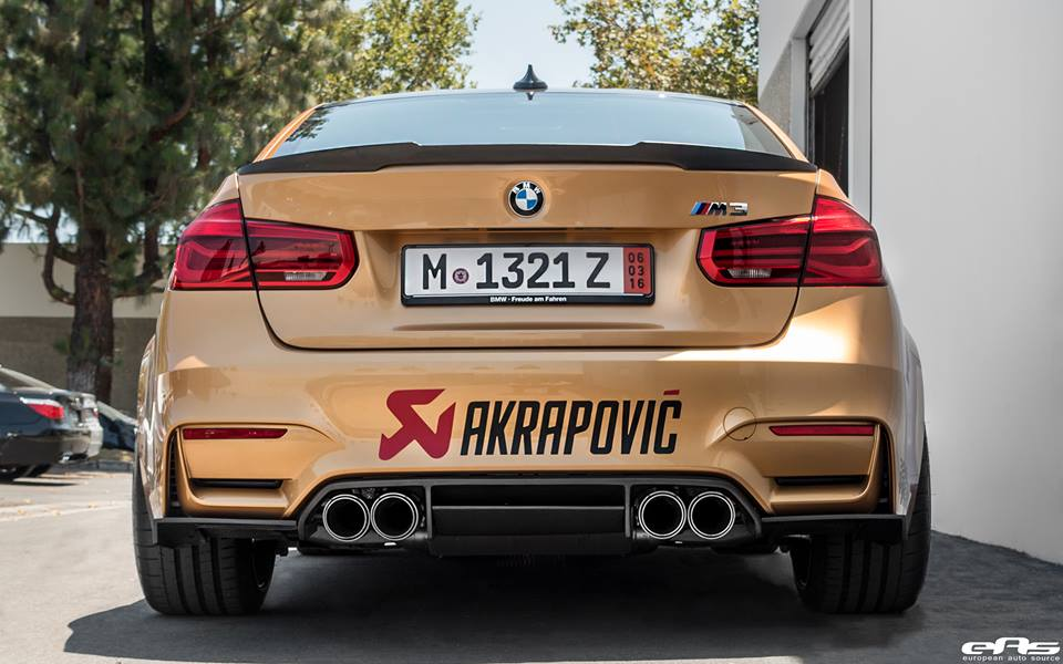 Sunburst Gold BMW M3 by EAS  (14)