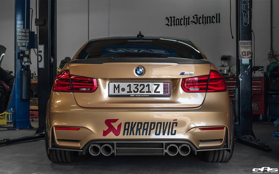 Sunburst Gold BMW M3 by EAS  (2)