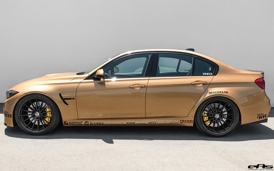 Sunburst Gold BMW M3 by EAS  (5)