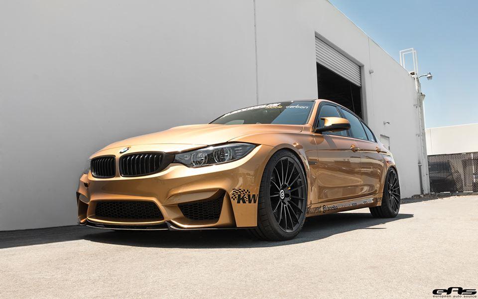 Sunburst Gold BMW M3 by EAS  (8)
