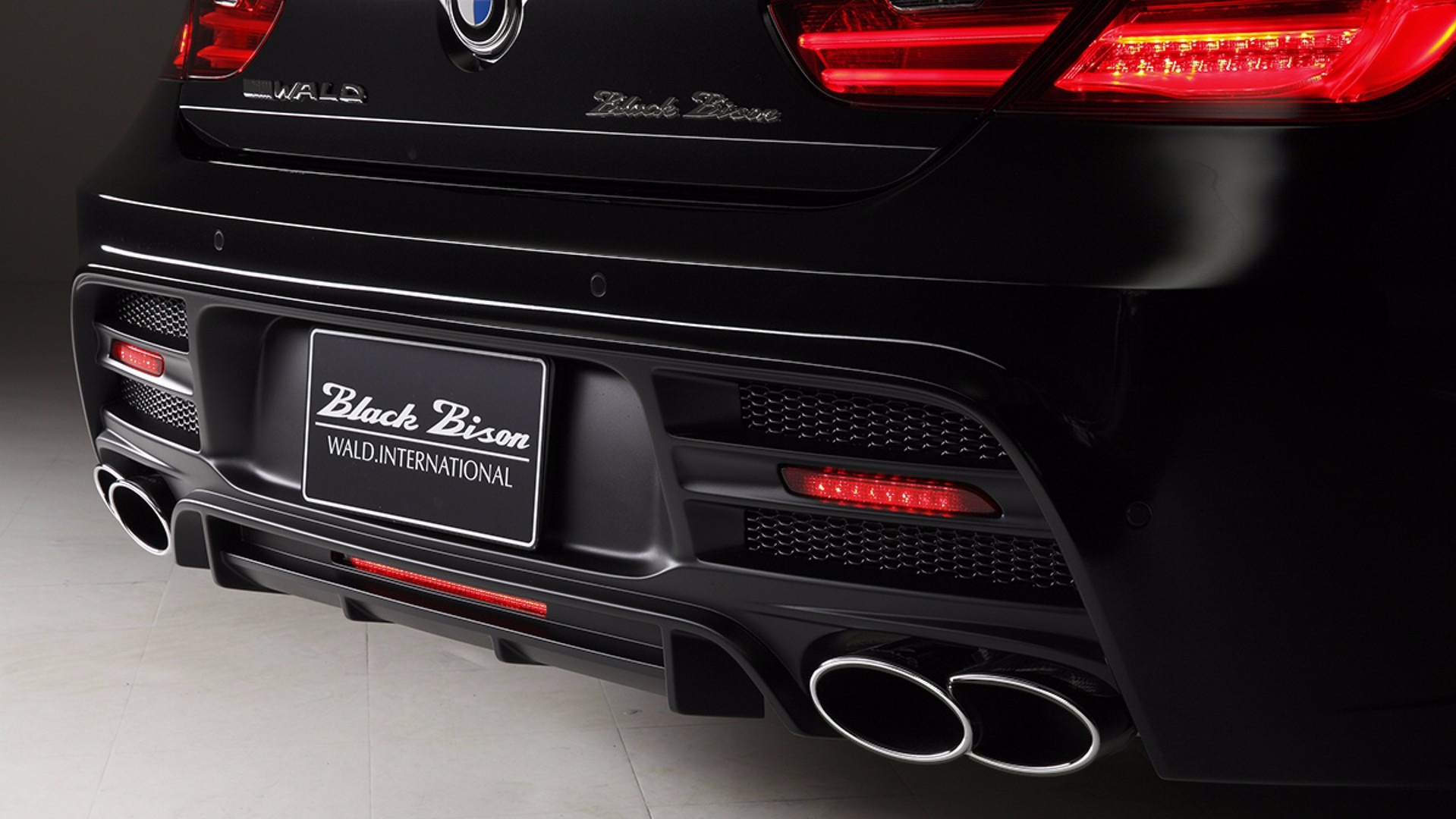 BMW 6-Series Gran Coupe with Black Bison Kit  (7)