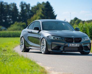 2016 BMW M2 Coupe on Vossen Wheels