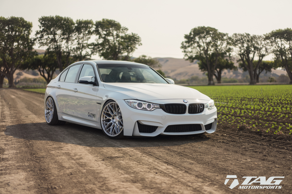Bmw M3 Sits On Hre Wheels Bmw Car Tuning