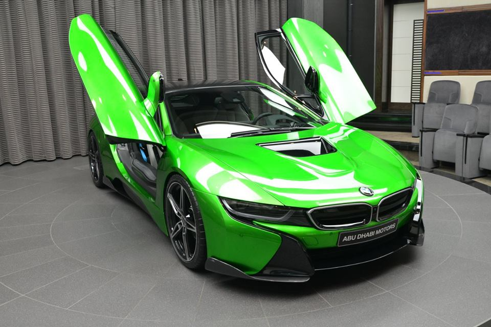 bmw-i8-in-lava-green-4