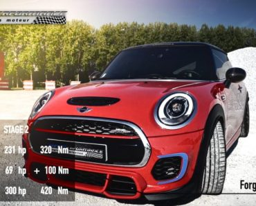 MINI JCW with Stage 2 Power Kit