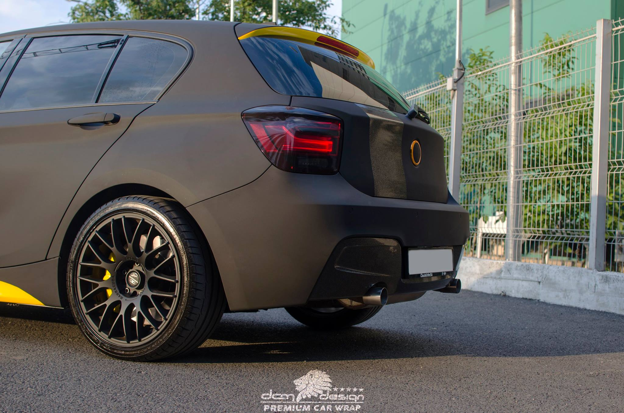 Matte Black BMW M135i by DCM Design  (1)