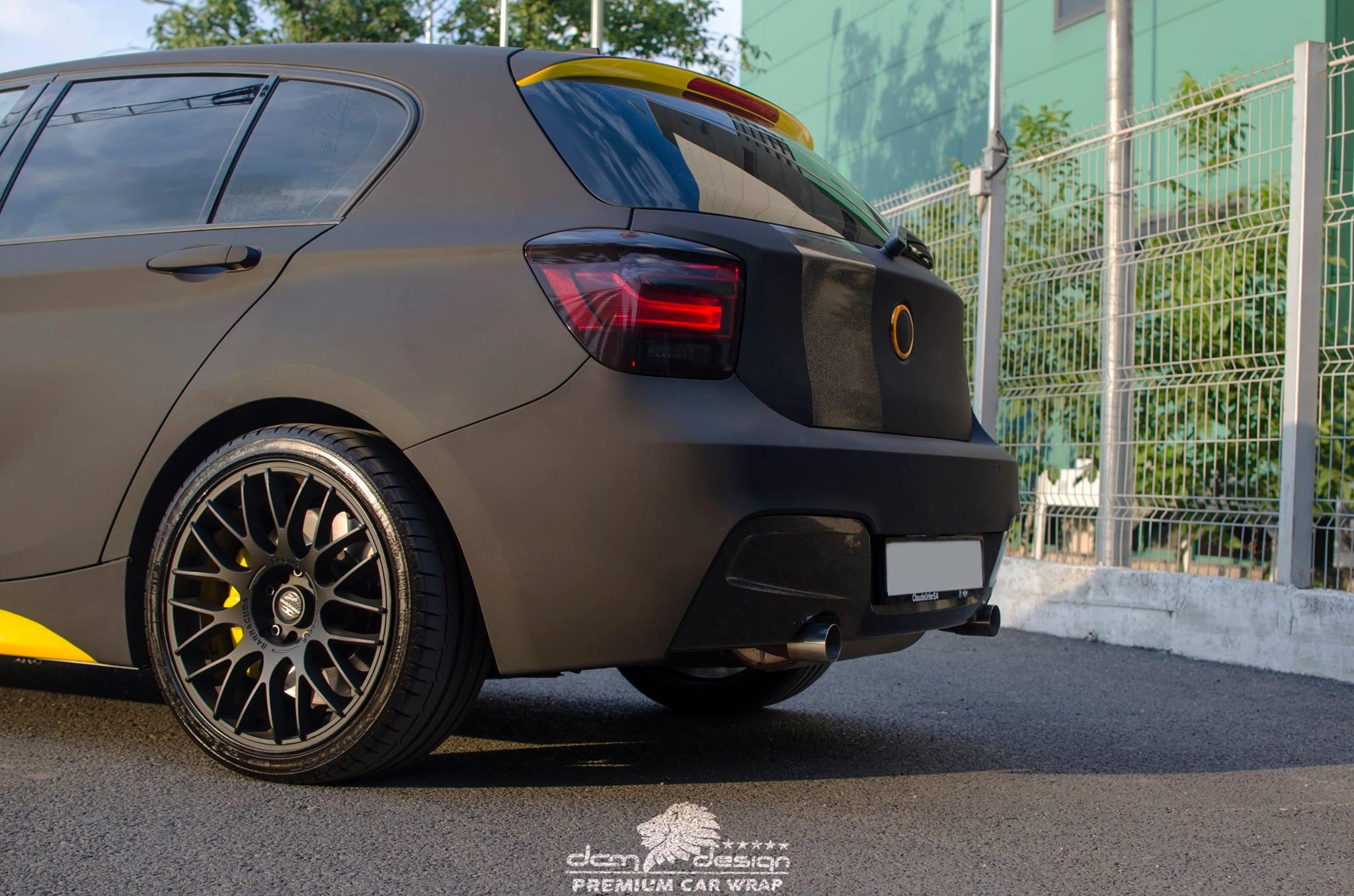 Matte Black BMW M135i by DCM Design  (1)
