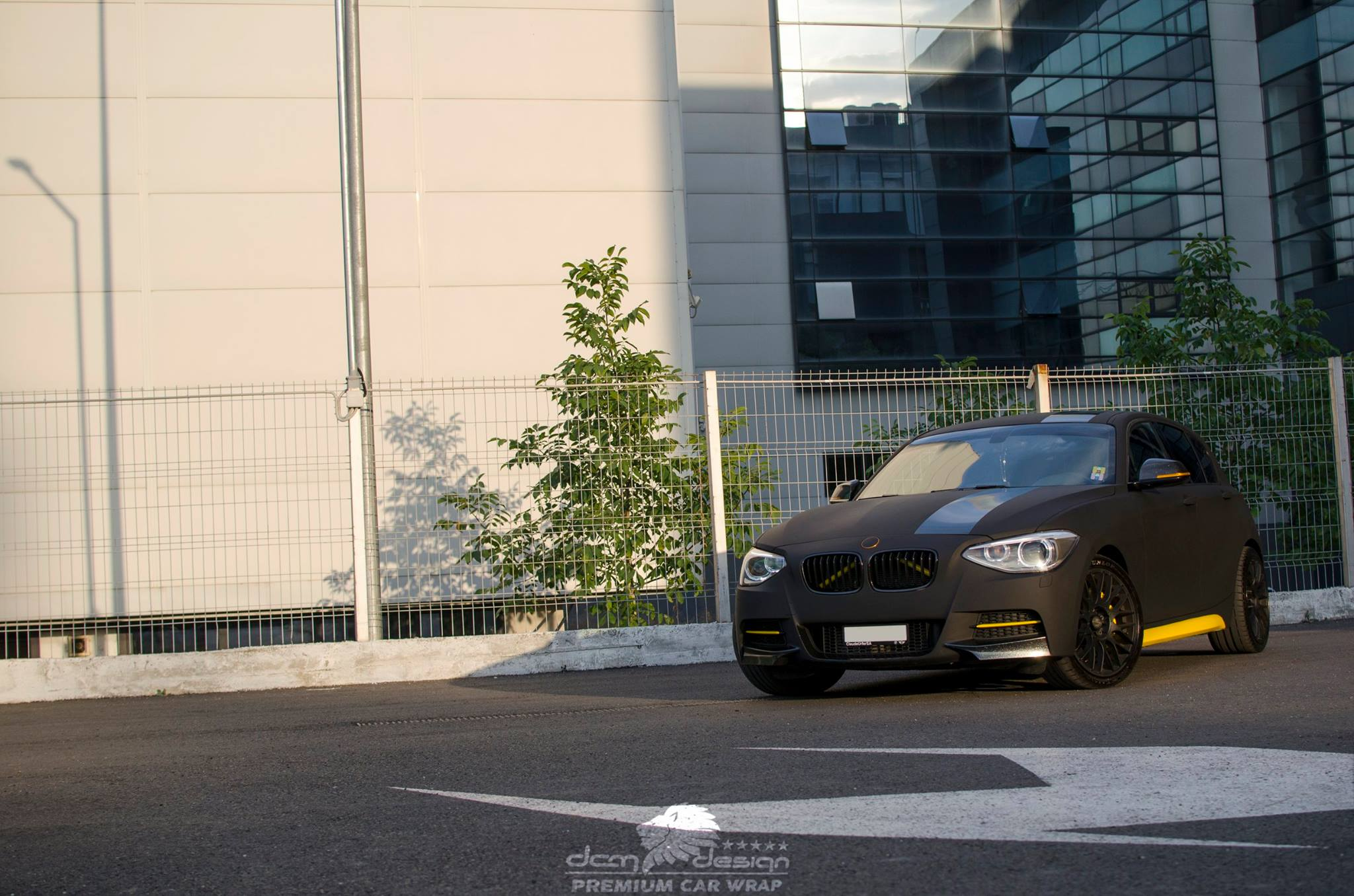 Matte Black BMW M135i by DCM Design  (17)